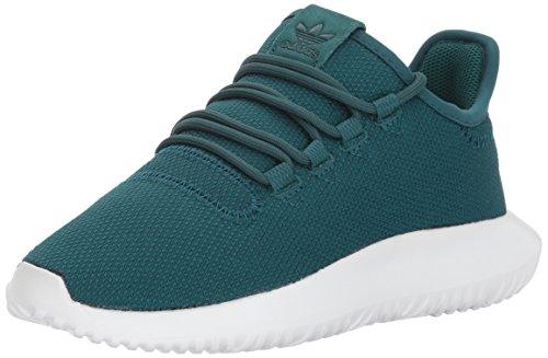 adidas Originals Boys' Tubular Shadow J Running Shoe, Green/