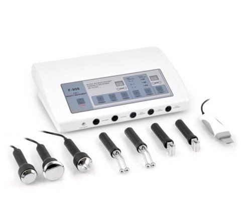 USA Salon and Spa Table Top Professional Tri Combo USA-F-906 UltraSonic peeling, Galvanic current, UltraSonic skin scrubber instrument by USA Salon & Spa