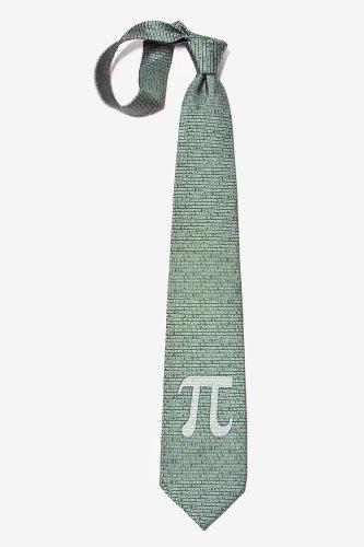 Pi TO THE 50TH DECIMAL-MATH GEOMETRY NERD TEACHER Wild Ties Microfiber Necktie