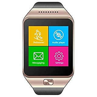 CNPGD All-in-1 Watch Cell Phone & Smart Watch Sync to Android iOS Smart Phone (Gold) (B00OAOFP34) | Amazon price tracker / tracking, Amazon price history charts, Amazon price watches, Amazon price drop alerts