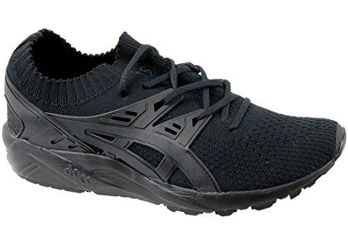 ASICS Gel-Kayano Trainer Knit Mens Running Trainers H705N Sneakers Shoes (UK 9.5 US 10.5 EU 44.5, Black Black 9090)