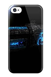 Awesome Case Cover/iphone 4/4s Defender Case Cover(usaf Sci Fi Battleship Alien Spaceship Peacemaker People Sci Fi)