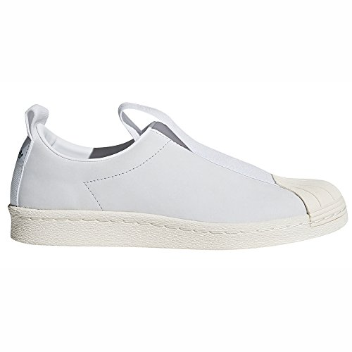 Bianco White Crystal Originals Ginnastica Sneaker Donna Autentica Basse Scarpe Leather Da off Adidas Tendenza White Superstar 64Pnqx6E