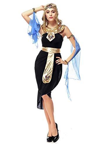 Women's Halloween National Arab Long Dress,Halloween Christmas Theme Party Carnival Costume (Style 01)