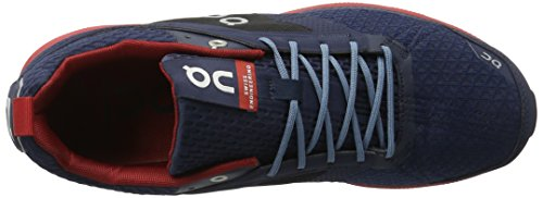 On Running Cloudcruiser Midnight/Mars M 12, Chaussures Compétition Homme, Bleu (Midnight/Mars), 47 EU
