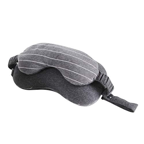 Joint Stripe - Arichtop Multifunctional 2-in-1 Eye Cover Neck Protection Stripe Joint Portable U Shaped Pillow Home Travel Back Cushion