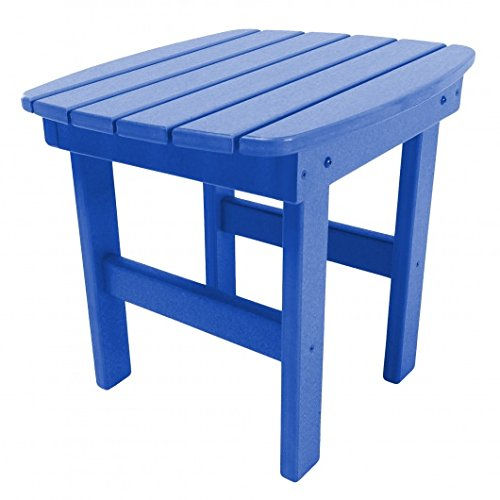 Original Pawleys Island ST1BLU Durawood Outdoor Side Table, Blue