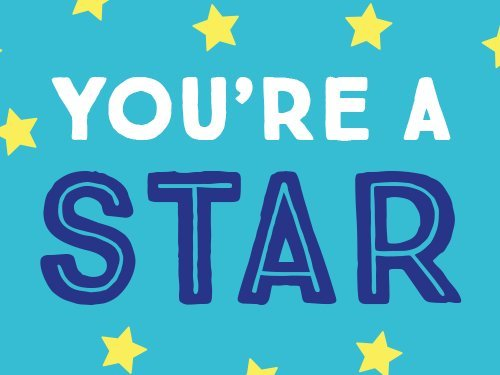 You're a Star (Teal) egift card link image