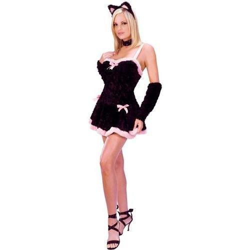 Kiss Me Kitty Adult Costume - Medium/Large -