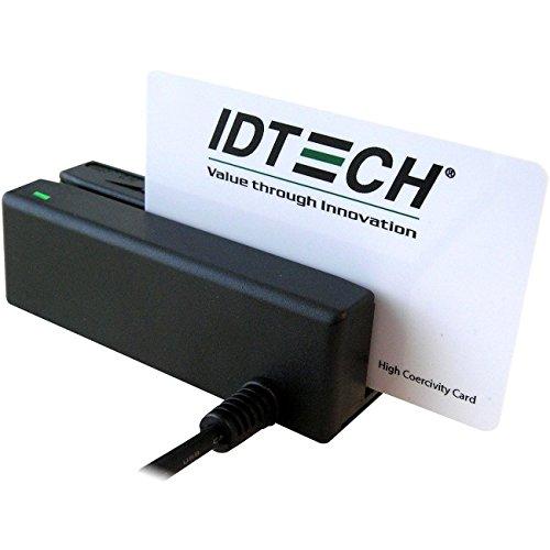 Id Tech Minimag Ii Idmb Magnetic Stripe Reader - Triple Track - 60 In/s - Keyboard Wedge - Black by Id Tech