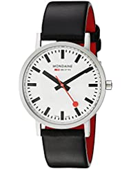 Mondaine Mens A660.30314.16SBB Quartz Classic Leather Band Watch