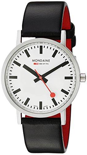 Mondaine Men's A660.30314.16SBB Quartz Classic Leather Band Watch ()
