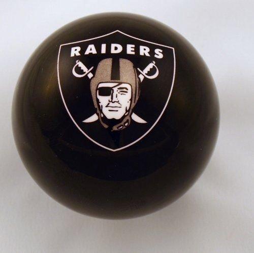 Oakland Raiders Nfl Billiard Ball - Oakland Raiders BLACK Billiard Pool Cue Ball 8