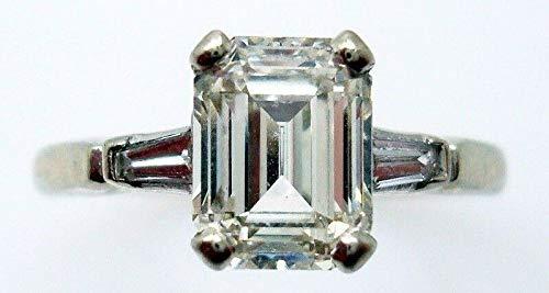 1.4 Ct Emerald Diamond - 2
