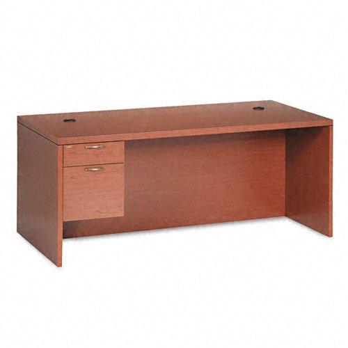 HON 11586LABHH Valido 11500 Series 72 by 36 by 29-1/2-Inch Left Pedestal Desk, Bourbon Cherry