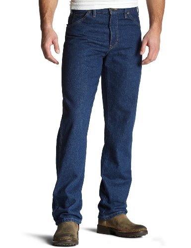 Big Tall Mens Jeans (Dickies Men's Big & Tall Regular-Fit Five-Pocket Work Jean, 48x30, Indigo Blue)
