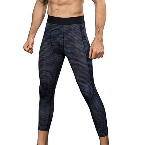 De Pantalones con Hombres De Minutos De para Mitlfuny Negro Pantalones Running Estampado ADELINA para 3D Hombre Siete Slim En Ropa Chándal n1TpnP