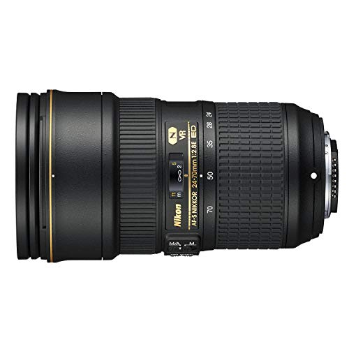 Nikon AF-S FX NIKKOR 24-70mm f/2.8G ED Zoom Lens with Auto Focus for Nikon DSLR Cameras