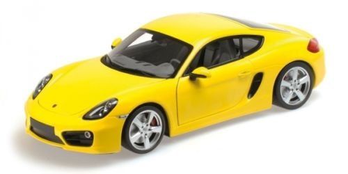 Scale Yellow 18th (Minichamps 1:18 2013 Porsche Cayman (Yellow))
