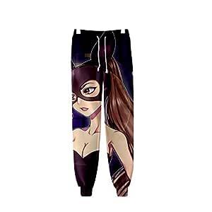 W&TT Unisex 3D HD Impreso Ariana_Grande Pantalones de chándal ...
