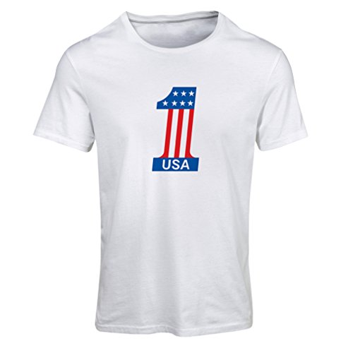 lepni.me T Shirts For Women United States Of America - USA American Flag Patriotic Clothing (XX-Large White Multi - Tanger 1 Outlet