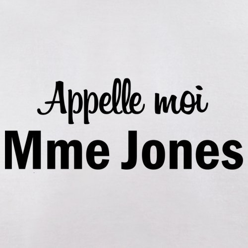 Apelle Moi Madame Jones - Femme T-Shirt - Blanc - L