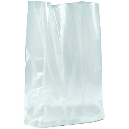 Aviditi PB1390 Gusseted Poly Bags, 24'' x 20'' x 48'', 1 Mil (Pack of 200) by Aviditi