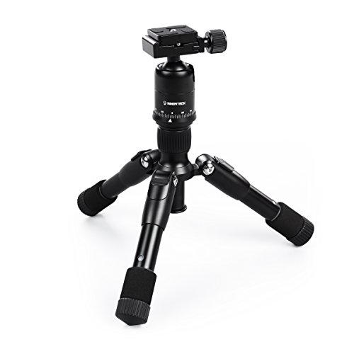 Innerteck Tripod Mini Folding Camera Tripod with Ballhead for DSLR EOS Canon Nikon Sony Samsung - Travel Portable Tripod