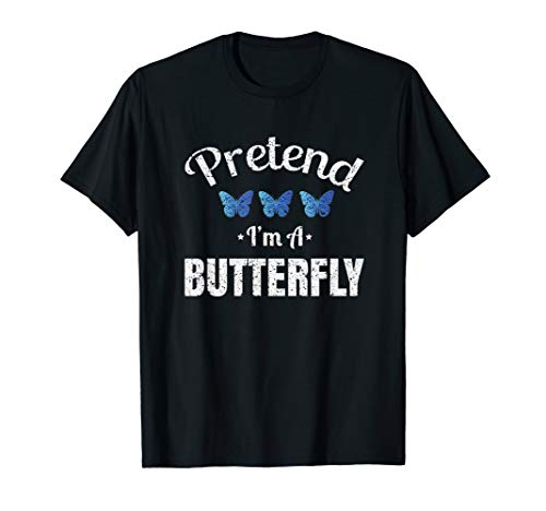 Pretend I'm a Butterfly Lazy Halloween Easy Costume ()