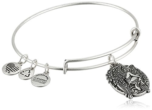 Alex and Ani Guardian of Answers Expandable Wire Bangle Bracelet, 2.5