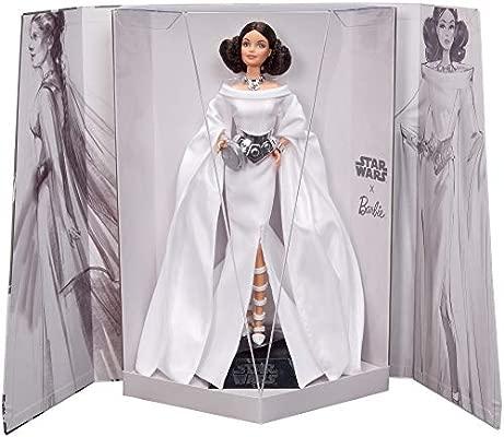 Barbie Collector - Muñeca de Colección Starwars Princesa Leia (Mattel GHT78)