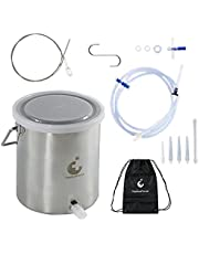 TopQuaFocus Stainless Steel Bucket Kit for Man Woman personal cleaning
