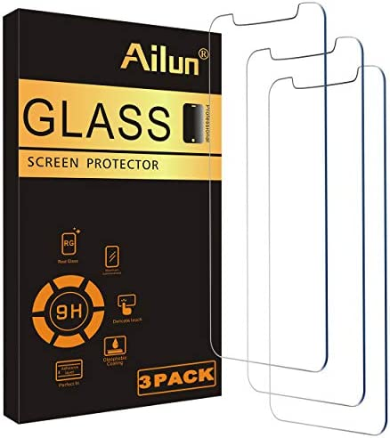 Ailun Glass Screen Protector Compatible for iPhone 12 professional Max 2020 6.7 Inch 3 Pack Tempered Glass