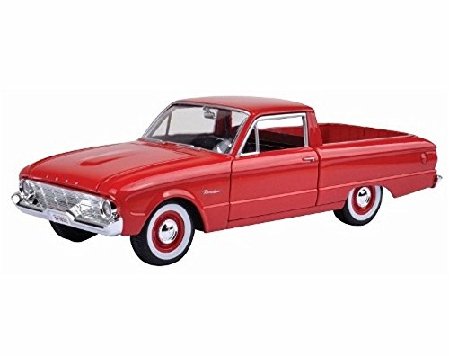 1960 Ford Ranchero Pick-up, Red - Showcasts 79321 - 1/24 Scale Diecast Model Toy Car (Brand New, but NO BOX) -  Motor Max