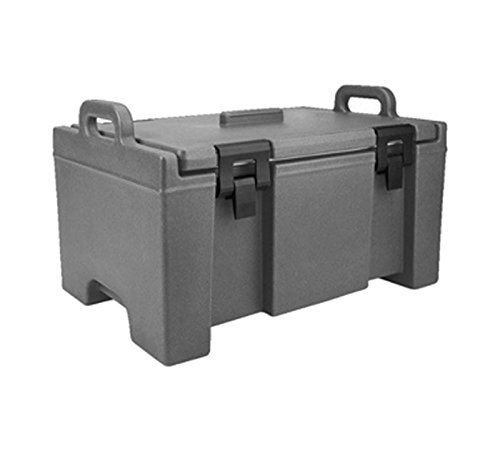 Cambro (UPC100191) Top-Load Food Pan Carrier - Ultra Camcarrier 100 (Gray Ultra Pan Carrier)