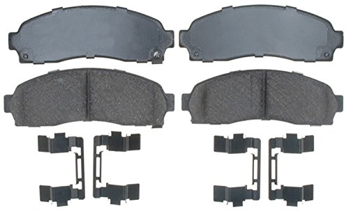 ACDelco 17D913CH Professional Ceramic Front Disc Brake Pad Set ()