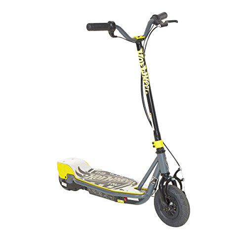 Hot Wheels 24V Electric Scooter, Black/Grey/Yellow - Hot Wheels Scooter