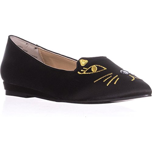 Black Flats Black Loafer Loafer Freeda TS35 Cat Cat Freeda TS35 Flats wqzBxqES