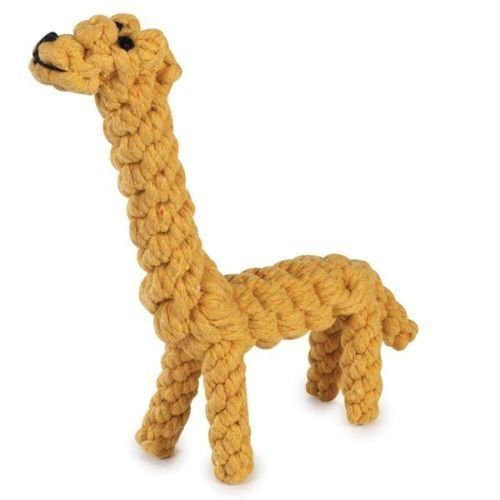 Tough Wound Rope Dog Toys Durable Yellow Giraffe Chew Toy For Dogs 8