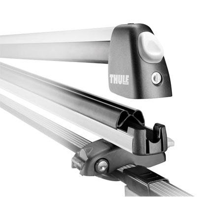 Thule 92725 Universal Flat Top Snowsport Carrier with Locks