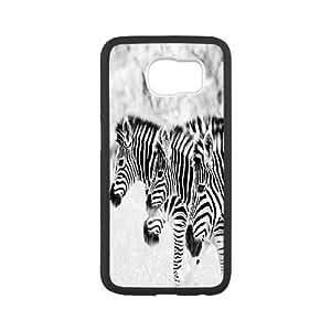 Custom Samsung Galaxy S6 Cover Case, Personalized Samsung Galaxy S6 Phone Case - Zebra