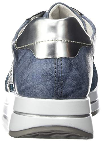Donna 14 argento D2500 Remonte Da tinte Basse Scarpe Ginnastica Blu royal vxqzXR