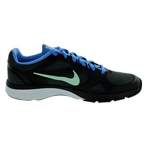 e524ac5b8d18 hot sale 2017 Nike Dual Fusion TR Women s Training Shoes 443837 012  Black Blue -