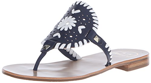 Jack Rogers Damen Georgica Sandalen MIDNIGHT/WHITE