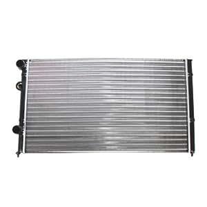 1x Radiador de agua para vehículos con caja de cambios manual SEAT CORDOBA 6K2/C2 2.0 i 93-99; SEAT IBIZA 2 II 6K1 1.4 i,1.6 i 93-99; SEAT INCA 6K9 1.7 D 96-03; VW GOLF 3 III 1H1 2.8 VR6 92-97; VW POLO 6N1 60 1.4 95-99 + CLASSIC 6KV2 1.4,1.9 TDI 95-01+ VARIANT 6KV5 1.4,1.6,1.9 TDI 97-01; VW VENTO 1H2 2.8 VR6 92-98;