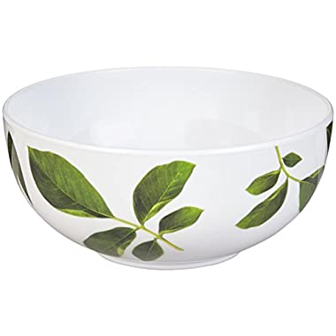 kate spade new york Patio Floral Melamine Individual Bowl, Carnation
