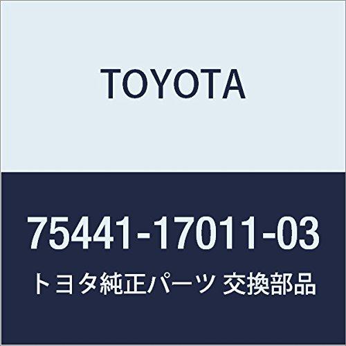 TOYOTA 75441-17011-03 Name Plate