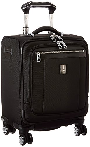 Travelpro Platinum Magna 2 Spinner Tote, Black, One Size by Travelpro