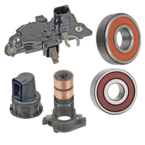 Alternator Rebuild Kit 0124615014 0124615046 Regulator Brushes Bearings Slipring