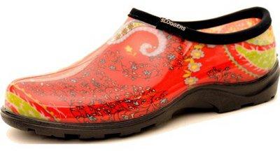 Sloggers 5104RD06 Size 6 Paisley Red Women's Waterproof Rain & Garden Shoe -  Principle Plastics